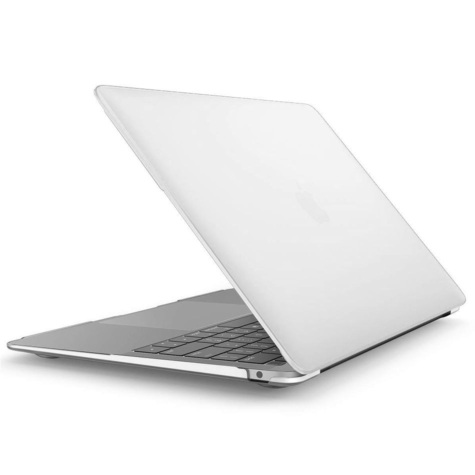 huge selection of 6a4a7 002dd Frosted Hard Shell Case for 2018 Apple MacBook Air 13-inch - White ...